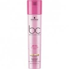BC Bonacure Color Freeze Gold Shimmer Micellar Shampoo 250ml