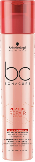 BC Bonacure Peptide Repair Rescue Deep Nourishing Micellar Shampoo 250ml