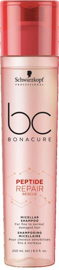 BC Bonacure Peptide Repair Rescue Micellar Shampoo 250ml