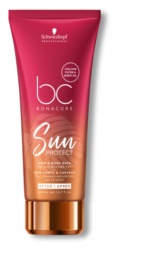 BC Bonacure Sun Protect Hair & Body Bath 200ml
