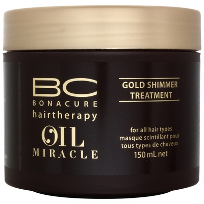 BC Oil Miracle Gold Shimmer Treatment 150ml