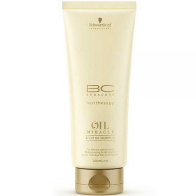 Bonacure Oil Miracle Light Oil Shampoo 200ml