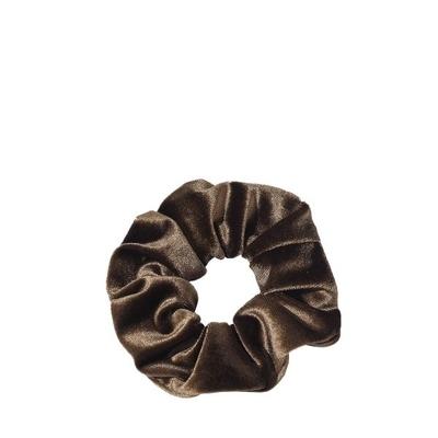 Cocobella Velvet Scrunchie Keskiruskea Iso