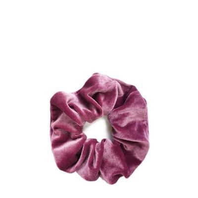Cocobella Velvet Scrunchie Tumma Pinkki Iso
