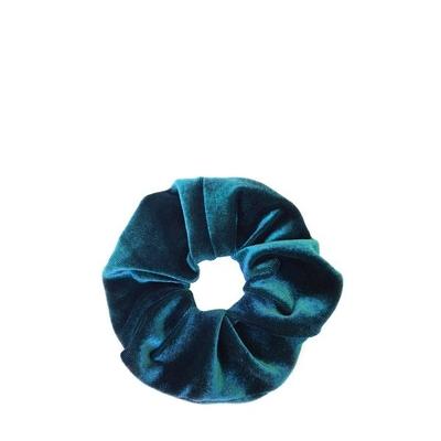 Cocobella Velvet Scrunchie Turkoosi Iso