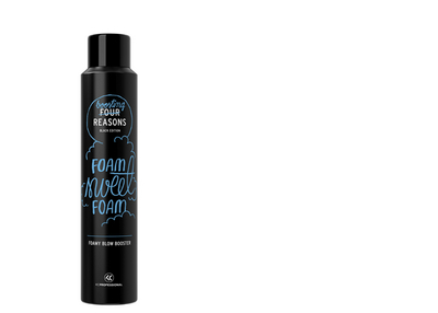 Four Reasons Black Edition Foamy Blow Booster 200ml
