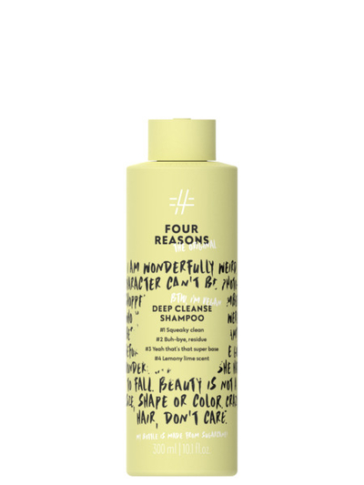Four Reasons Deep Cleanse Shampoo 300ml