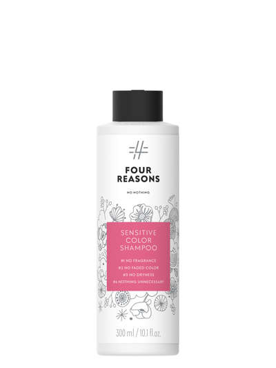 Four Reasons No Nothing Sensitive Color Shampoo 300ml
