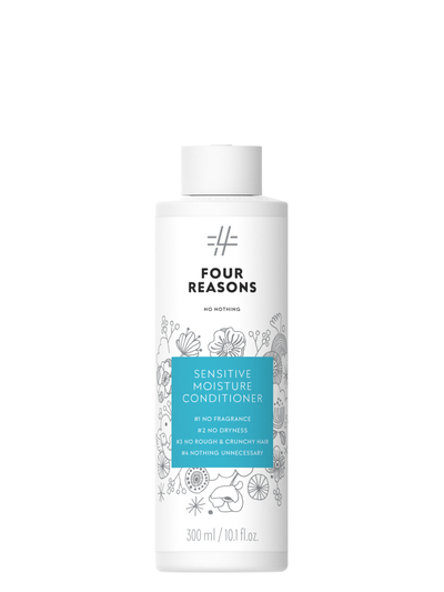 Four Reasons No Nothing Sensitive Moisture Hoitoaine 300ml