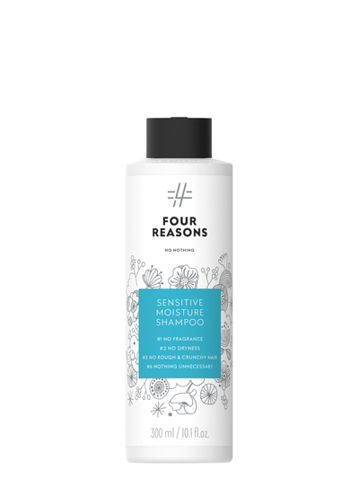 Four Reasons No Nothing Sensitive Moisture Shampoo 300ml