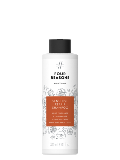 Four Reasons No Nothing Sensitive Repair Shampoo 300ml