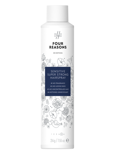 Four Reasons No Nothing Sensitive Super Strong Hairspray 300ml