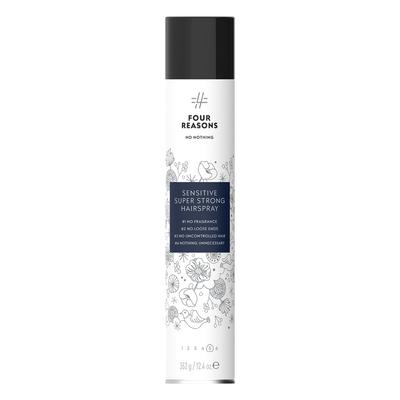 Four Reasons No Nothing Sensitive Super Strong Hairspray 500ml