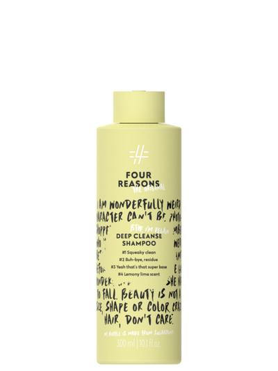 Four Reasons The Original Deep Cleanse Shampoo 300ml