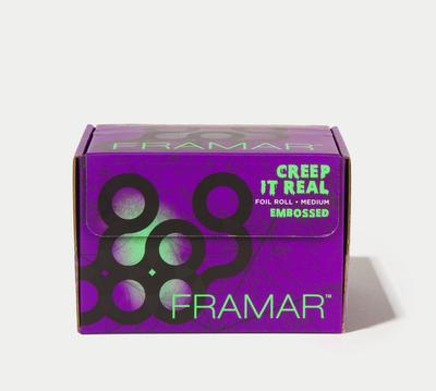 Framar Creep It Real Embossed Roll Folio