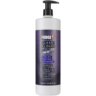 Fudge Clean Blonde Violet Toning Shampoo 1l