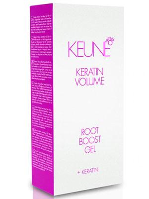 Keune Keratin Volume Root Boost Gel 50ml + Keratin Curl Neutralizer 120ml