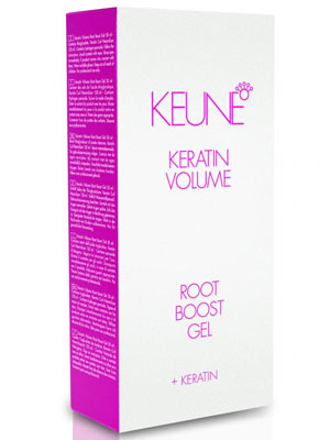 Keune Keratin Volume Root Boost Gel 50ml & Keratin Curl Neutralizer 120ml