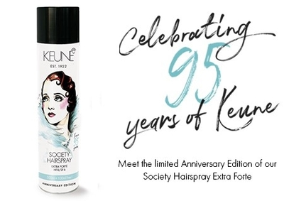 Keune Society Hairspray Extra Forte 400ml