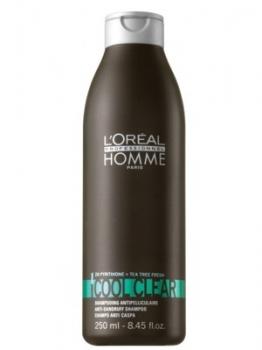 L'oréal Homme Cool Clear Shampoo 250ml