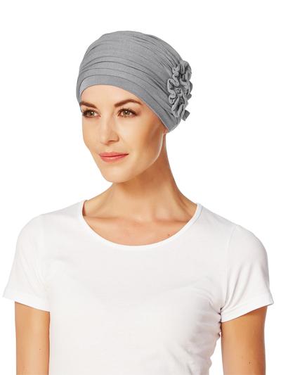 Lotus turban, harmaa