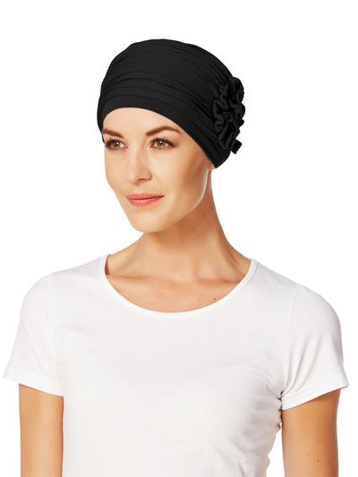 Lotus turban, musta