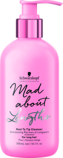 Mad About Lengths Root To Tip Cleanser 300ml