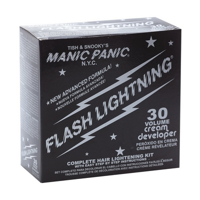 Manic Panic Flash Lightning KIT 30Vol. Vaalennusainepakkaus