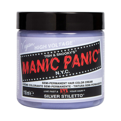 Manic Panic High Voltage -suoraväri 118ml Silver Stiletto