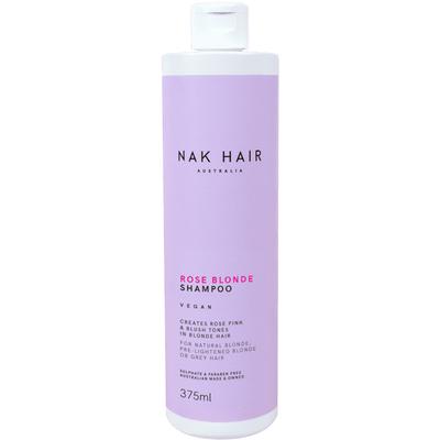 NAK HAIR Rose Blonde Shampoo 375ml