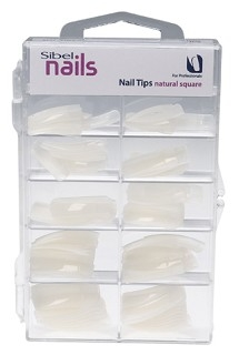Nail Tips Natural Square