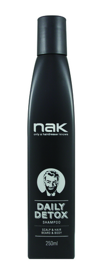 Nak Men´s Grooming Daily Detox Shampoo 250ml