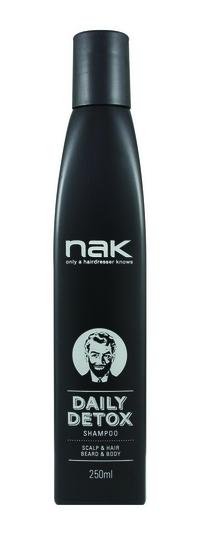 Nak Men´s Grooming Daily Detox Shampoo 250ml
