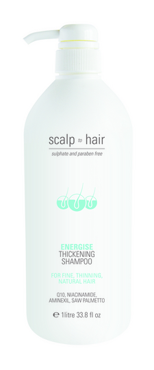 Nak Scalp To Hair Energise Thickening Shampoo 1000ml