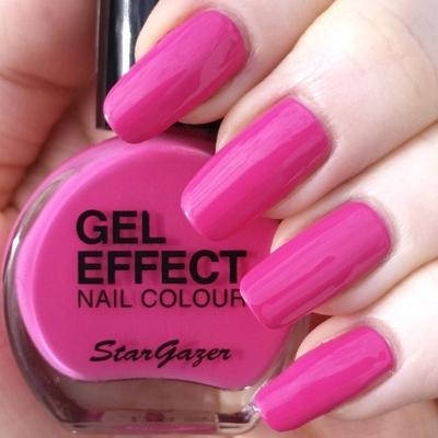 Stargazer Gel Effect Nail Colour Kynsilakka Cute 10ml