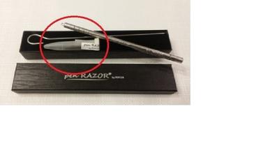 Vaihtoteräpakkaus 20kpl Pen Razor By Magia -Kynäterään