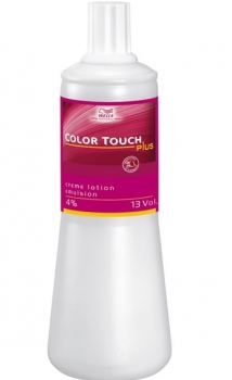 Wella Color Touch Plus Emulsion 4% 1000ml