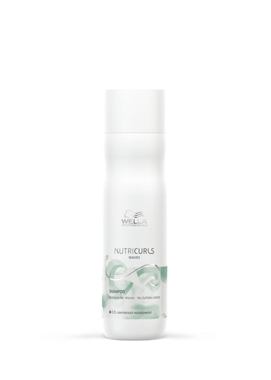 Wella Nutricurls Shampoo For Waves - No Sulfates Added 250ml