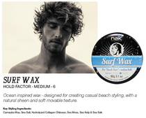"NAK Surf Wax ""For Beach Hair"" 90g"
