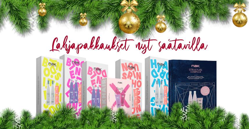Joulukuu lahjapakkaukset